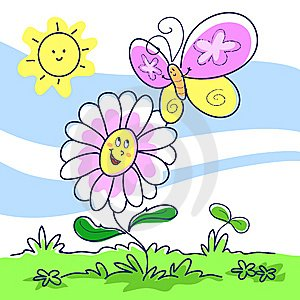 spring-cartoon-illustration-thumb5796116